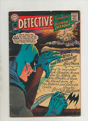 Detective Comics #366 - Will Cover By Carmine Infantino - (Grade 4.0) 1967