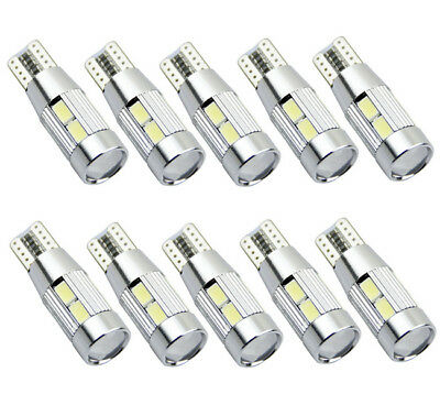10PCS T10 10 SMD 5630 CREE CHIP LED Xenon Canbus Standlicht 4W 12V Deutsche Post