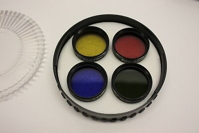 Meade 07530 4000 Series Telescope Eyepiece Color Filter Set #1 - Excellent Cond