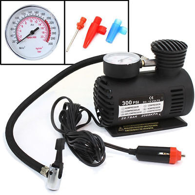 12V Portable Air Compressor 300 PSI Inflatable Pump For Car Tyre Inflator Pump