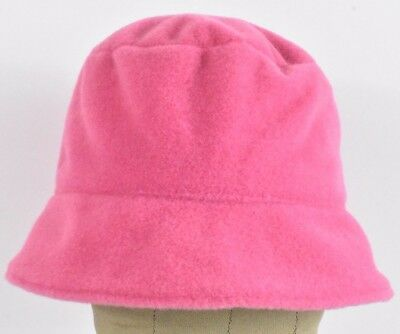 Pink Fuzzy Puffy Soft Nordstrom Brand Girl's Bucket hat cap Fitted