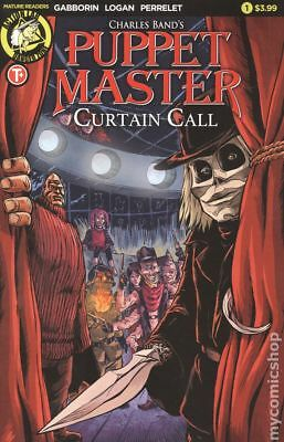 Puppet Master Curtain Call (Action Lab) 1A 2017 NM Stock Image
