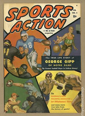 Sports Action #2 1950 VG/FN 5.0