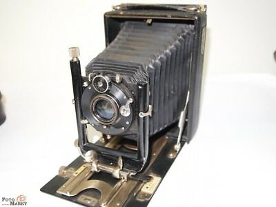 Folding Camera Run Ground camera 9x12 Rodenstock Lens terogonal 1:6,8 f=135mm