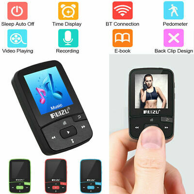 RUIZU X50 8GB MP3 MP4 Music Player HiFi Lossless Sound Bluetooth Pedometer FM TF