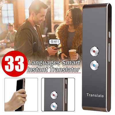 Bluetooth Pocket Easy Trans Smart 33 Languages Translator Travel For Android IOS