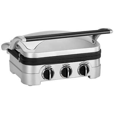 Cuisinart GR4CU Griddle & Grill - Silver (416782)