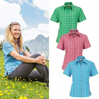 hive outdoor Maul Damen Bluse Sandnes Wanderbluse MDS