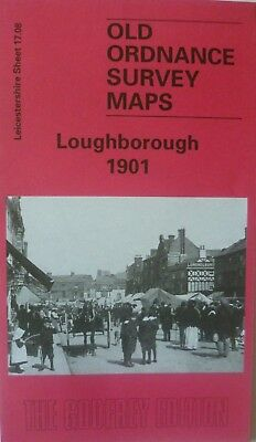 Old Ordnance Survey Maps Loughborough  Leicestershire 1901 Godfrey Edition New