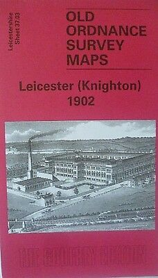 Old Ordnance Survey Maps Leicester Knighton  Leicestershire 1902 Godfrey Edition