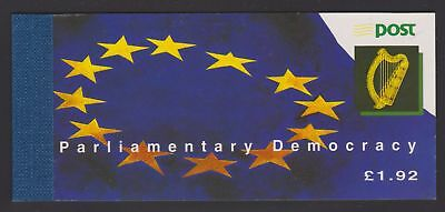IRELAND 1994 Parliamentary Democracy - MNH £1.92 Stamp Booklet - (169e)