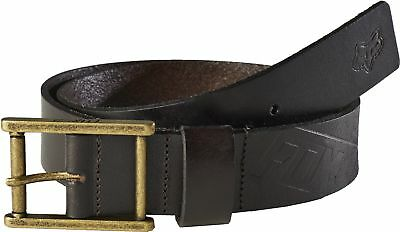 Fox Racing Briarcliff Leather Belt Brown