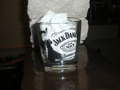 Jack Daniels On Tour Since 1866 Rock Band Glass Guitar Limited Edition 1 Of 4