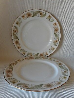 TWO DUCHESS GREENSLEEVES 240mm PLATES GOOD CONDITION