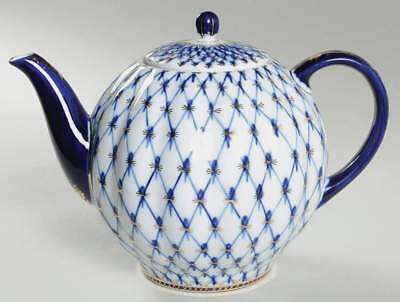 Lomonosov COBALT NET Tea Pot 1670228