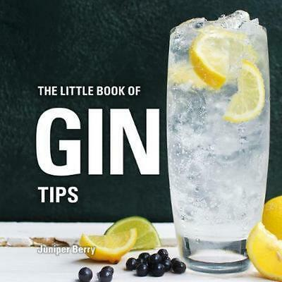 Little Book of Gin Tips by Juniper Berry Hardcover Book Free Shipping!