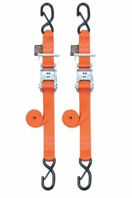 "Powertye 1.5"" Ratchet w/Safety Latch Hooks Orange (30579-S)"