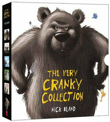 NEW The Very Cranky Collection By Nick Bland Hardcover Free Shipping