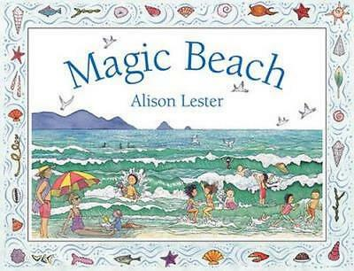 NEW Magic Beach By Alison Lester Board Book Free Shipping