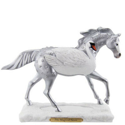 Enesco MAGICAL SWAN A Trail of Painted Ponies 4021360 Figurine