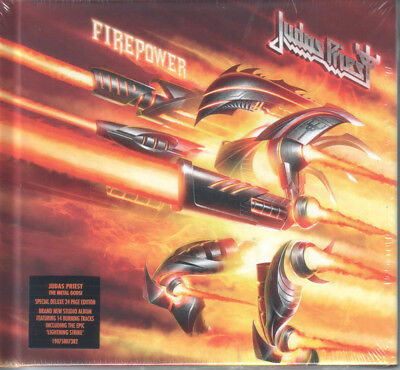 Judas Priest - FIREPOWER [Deluxe CD] Digibook New & Sealed