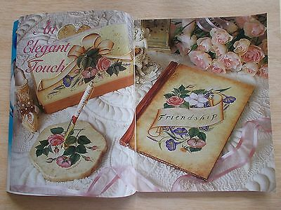 Folk Art & Decorative Painting Vol 6 #9~Clock~Rooster~Roses~Knight~Tray...