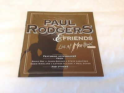 Paul Rodgers - Live at Montreux 1994 CD (2011) ex- Free, Bad Company