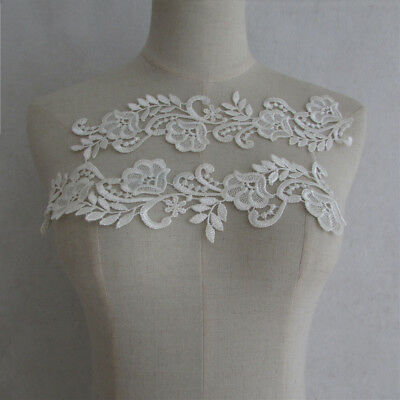 fashion decorate clothing applique embroidery neckline accessory lace YL1010