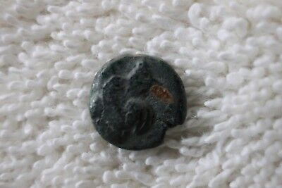 Unidentified Roman Or Greek Empire Bronze Ancient Coin   T56