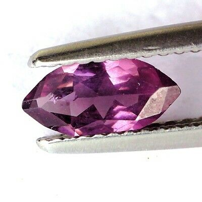 #*0.54 cts. 8.7 x 4.5 mm. UNHEATED NATURAL PURPLE SPINEL MARQUISE BURMA