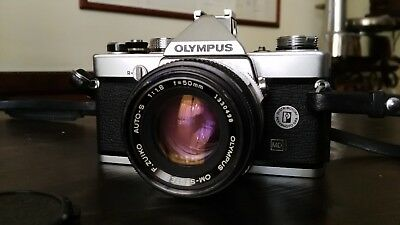 Olympus OM1N MD + Shoe 4 + Zuiko 50mm 1:1,8