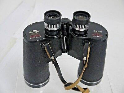 Scope Custom 10 x 50 Binoculars and Leather Case (SW127)