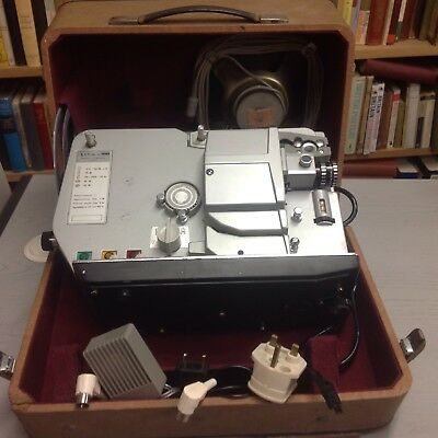Vintage Silma Film Projector with case