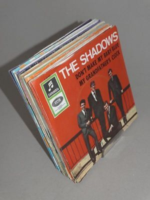 19 Singles - 7 Zoll Schallplatte SP The Shadow Apache MC Grace Chris Barber