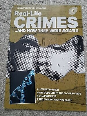 Real Life Crimes...and How They Were Solved Magazine - No 3 - Jeffrey Dahmer
