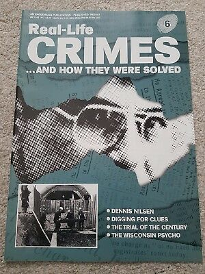 Real Life Crimes..and How They Were Solved Magazine - No 6 - Dennis Nilsen