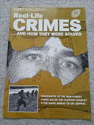 Real Life Crimes..and How They Were Solved Magazine No 19 - New Forest Murder
