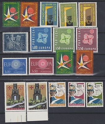 866) Portugal 1946 / 1962  Mint Never Hinged Complete Sets  - Perfect