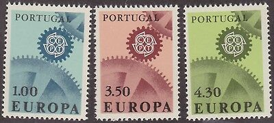 869) Portugal 1967 - Europa Cept 1967  - Mint Never Hinged Set  - Perfect