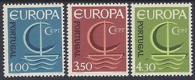 870) Portugal 1966 - Europa Cept 1966  - Mint Never Hinged Set  - Perfect