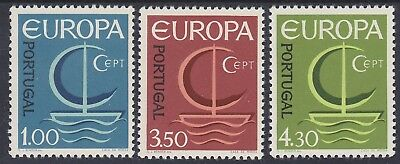 871) Portugal 1966 - Europa Cept 1966  - Mint Never Hinged Set  - Perfect