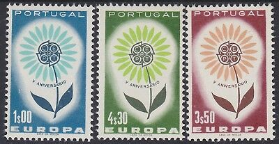 875) Portugal 1964 - Europa Cept 1964  - Mint Never Hinged Set  - Perfect