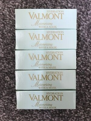 Valmont Moisturizing With A Mask, 5x 8ml (40ml) Samples, New