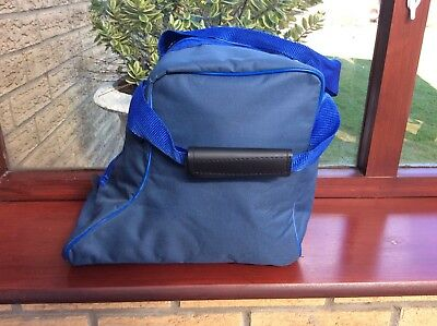 Horse Riding Short Boot Bag - Carry Bag Blue New