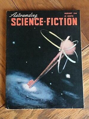 Astounding Science Fiction US SF digest - August 1948 - Classic issue