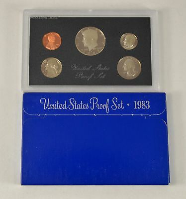 MBarr 1983 5 Coin United States Proof Set