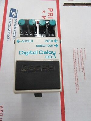 Boss DD-3 Delay Guitar Effect Pedal Made In Japan Nice