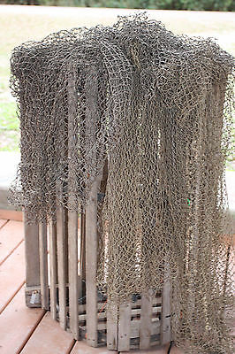 (2) Seafood Restaurant Decor, Fishing Net Decoration, 4 lbs / 4-8 pieces, Net-1