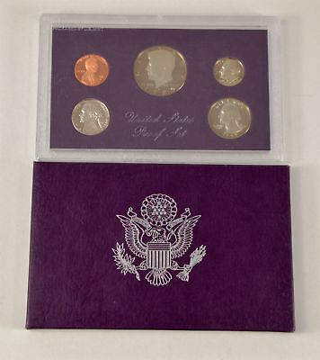 MBarr 1985 5 Coin United States Proof Set