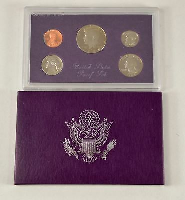 MBarr 1986 5 Coin United States Proof Set